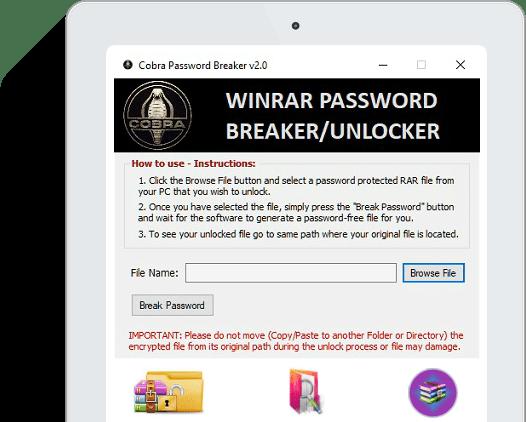 Cobra Password Breaker - Lets Break the Passwords!